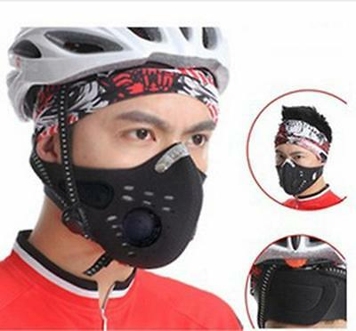 Running Anti Dust Motorcycle Bicycle Cycling Bike Ski Half Face Mask Filter JG