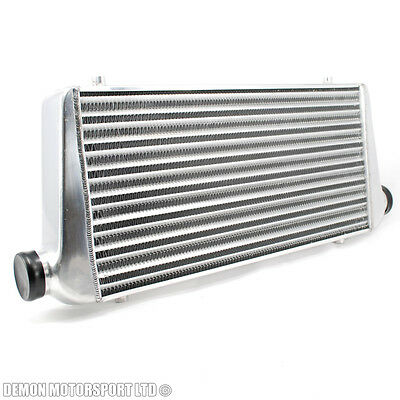 """Universal Alloy Intercooler 600 x 300 x 76mm For 76mm / 3"""" Inch Pipe Kit"""