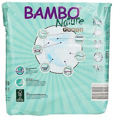 NEW Abena Bambo Nature Premium Baby Diapers, Training Pant , Size 5, 20 Count