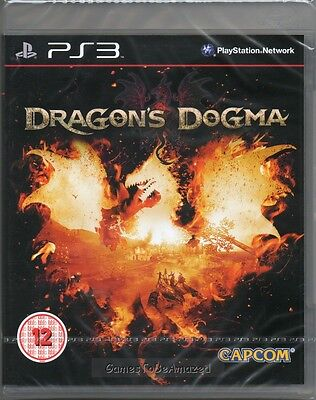 DRAGON'S DOGMA GAME PS3 (dragons) ~ NEW / SEALED