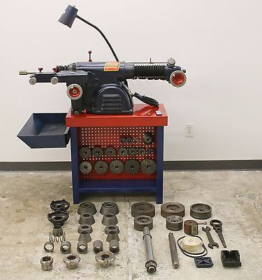"Ammco 4100 Heavy Duty Disc & Drum Brake Lathe w/ Bench & HD 2"" Adapter Kit"