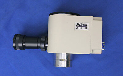 Nikon AFX-II Microphotographic Microscope Shutter Control Assembly