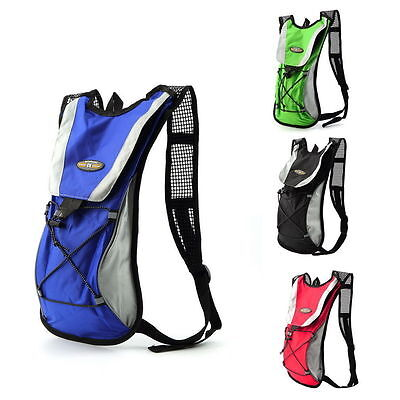 Cycling Hiking Running Camping Hydration Water Backpack Rucksack Bag 2L BY