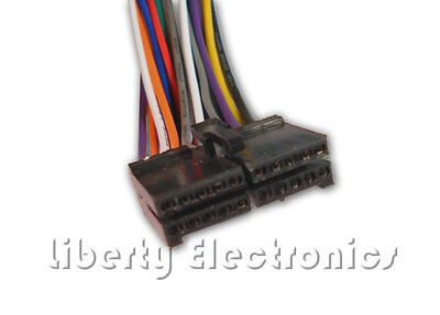 new 20 pin wire harness for jensen cd400m cd player