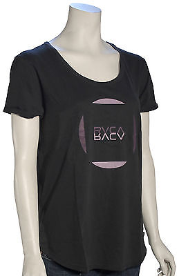 RVCA Reflect Women's T-Shirt - Black - New