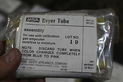 Msa Dryer Tube 481267 Pkg Of 3