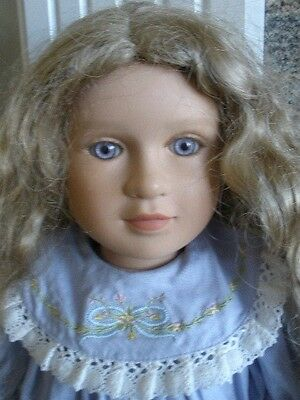 """My Twinn Michelle 2002 23"""" posable  doll  with extra Clothes and Wigs"""