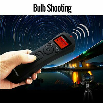 2.4Ghz Intervalometer Wireless Timer Remote For Sony DSLR A58 A7 A7R A3000 A6000