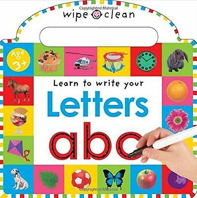 NEW - Wipe Clean Learning Letters Wipe Clean Write (Board book) ISBN1849156778