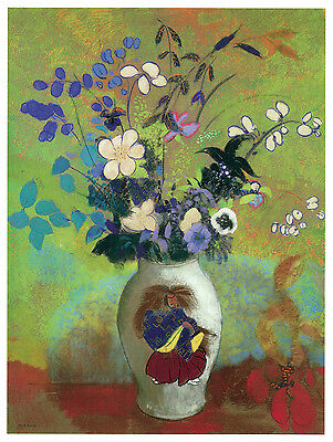 1247.Unique flower vase Art Decoration POSTER.Graphics to decorate home office.