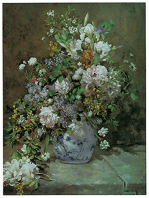 1250 White Flower vase  wall Art Decor POSTER.Graphics to decorate home office.