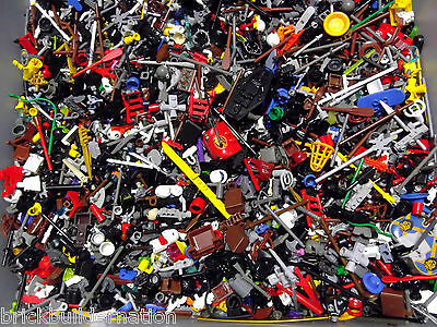 ☀️BRAND NEW 50 RANDOM LEGO MINIFIG Accessories BULK LOT MINIFIGURES MINI FIGURE