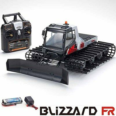 Kyosho Blizzard FR 1/12 EP Belt Snow Vehicle RTR w/ Radio / Battery / Charger