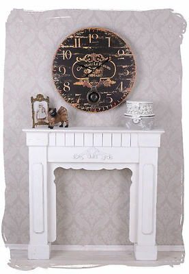Chateau Winemaker Vintage Kitchen Clock Wall Country House Shabby Suspension