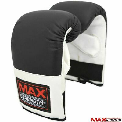 Pro Bag Mitts Boxing Gloves MMA UFC Training Muay Thai Grappling Punch Black