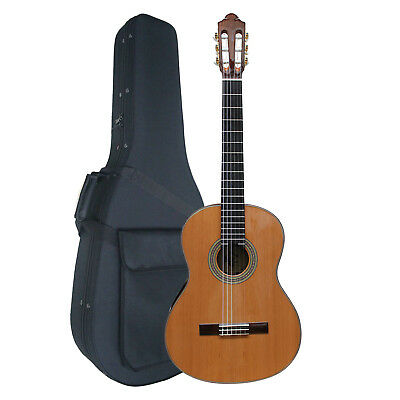Artist MC600 Hand Made Classical Guitar Solid Top + Hard Foam Case - New