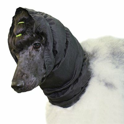 Show Tech Snood Waterproof Black Ear Protector For Dogs