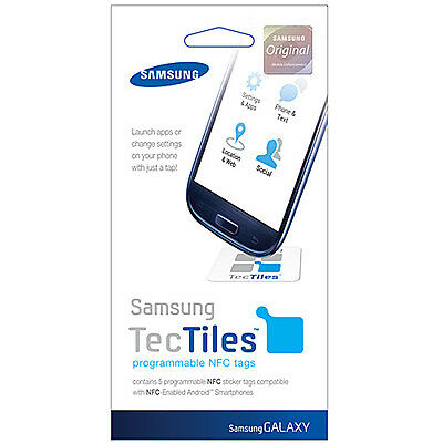 NEW OEM SAMSUNG GALAXY S3 L710/-I535/R530/T999 TecTiles programmable NFC tags