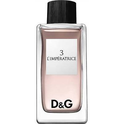 3 L'IMPERATRICE 100ml EDT WOMEN PERFUME by DOLCE & GABBANA