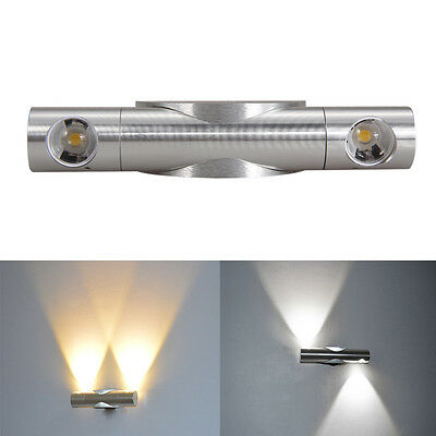 6W Modern Wall Light Sconce Fixture Wall Lamp LED Industrial Blub Outdoor/Indoor
