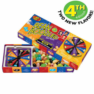 1 BOX BEAN BOOZLED SPINNER GAME 3.5oz JELLY BELLY. HIGH DEMAND!!