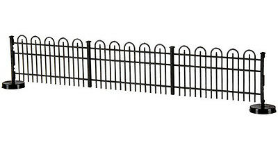 """Atlas 774 Hairpin Style Fence 'No Glue' Assembley Makes 35"""" H0/00 Gauge 1st Post"""