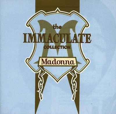 Madonna - The Immaculate Collection - CD - 17 Greatest Hits Album - 1990 Germany