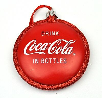 Coca-Cola Coke USA Anhänger Christbaumschmuck Ornament - Seasons Greetings