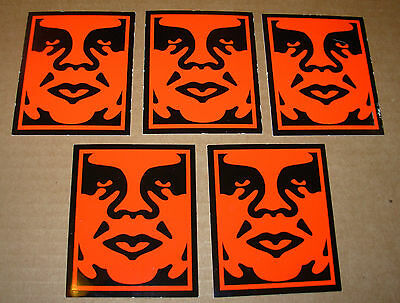 """SHEPARD FAIREY Obey Giant COMPUTER Sticker 3.5/"""" art from poster"""