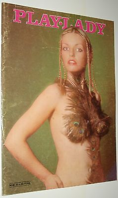 PLAY-LADY # 30 / CHRISTA LINDER  ORNELLA MUTI 1976 Complete w/ poster!