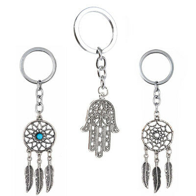 Vintage Porte-Clé Porte-Clef Attrapeur de rêves Dreamcatcher Dream Catcher