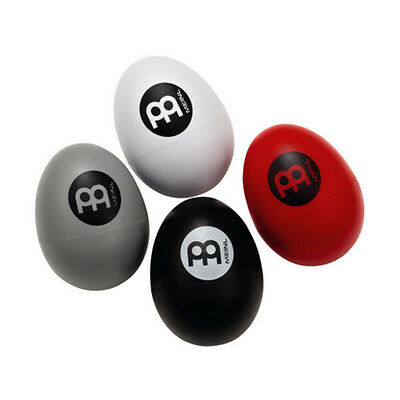 Meinl Plastic Egg Shakers 4 piece set. Range of volume from soft to extra loud!