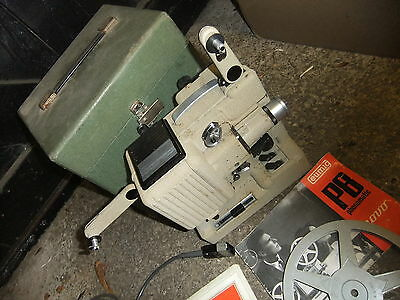 Cine film projector EUMIG P8 Phonomatic 8mm GREENl box & instructions not works