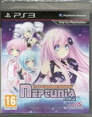 HYPERDIMENSION NEPTUNIA: MK2 GAME PS3 (RPG JRPG MK 2 ii) ~ NEW / SEALED