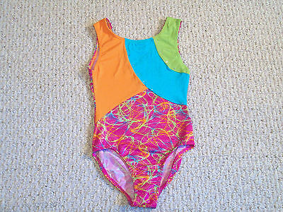 Nwt Jacques Moret Active Girl Tank Leotard Girls Xs (4/5)