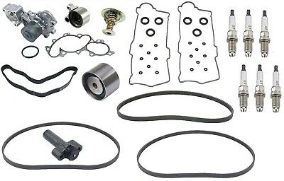 OEM Toyota 4 Runner 3.4L Complete Timing Belt Kit W/Thermo Belts V/C S/Plugs