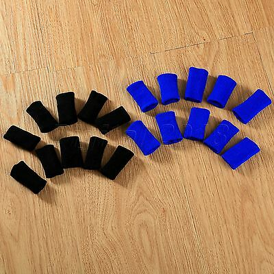 10Pcs Basketball Stretchy Finger Sleeve Wrap Braces Support Protector Type Gift