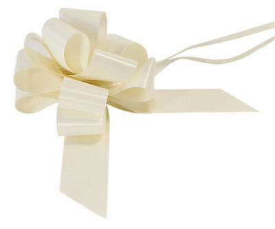 50mm Pull Bows - Wedding,Birthday,Christmas - Wedding Car,Pew Ends, Floral etc