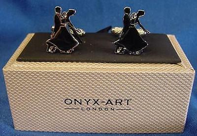 Cufflink Set - Ballroom Dancers - Strictly Dancing Prize Trophy Mens Gift Ck894