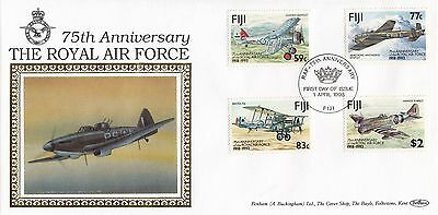 (80850) Fiji Benham FDC RAF 75 Years - 1 April 1993