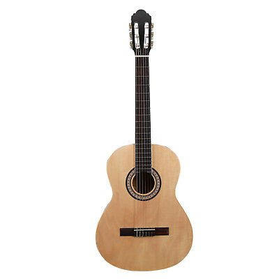 Artist CB4 Full Size 39 Inch Classical Nylon String Guitar - Natural - New