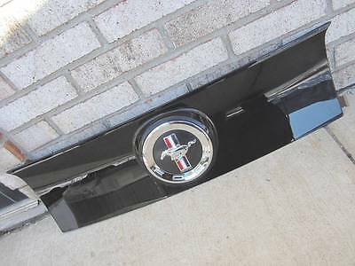 OEM 13 14 Ford Mustang Base Convertible Rear Trunk Deck Lid Panel w/ Emblem