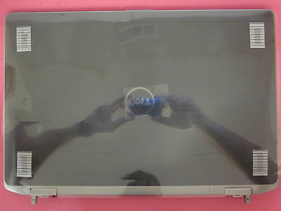 NEW GENUINE Dell Latitude E6530 LCD Back Cover Top Lid w/Hinges & Cables Y08TW