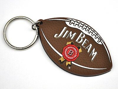 Jim Beam USA Schlüsselanhänger Keychain Key Ring American Football Style