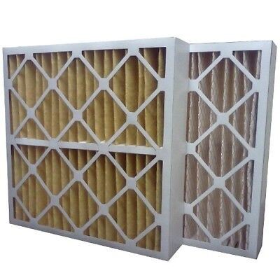 (3) Filters 16x25x4 MERV 11 Furnace Air Conditioner Filter - Made in USA