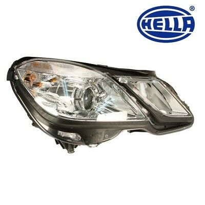 For Mercedes Benz E350 E63 E550 Hella Headlight Assembly Halogen
