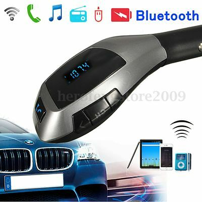 Main Libre Bluetooth FM Transmetteur MP3 TF Voiture Kit USB Chargeur Pr iPhone 6