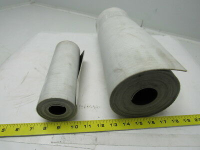 "1 Ply Black Nylon Backed Conveyor Belt  0.070"" thick 2 rolls"