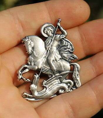 St.George and the Dragon Magnet, Made in Holy Land, Christian Religious Souvenir
