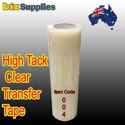 300x50m High Tack Clear Transfer Tape / Application Tape for Sign Vinyl Sticker